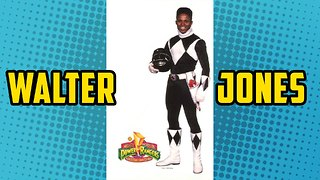 Black Power Ranger Walter Jones on Stan Lee's Comikaze All Year Long - Video