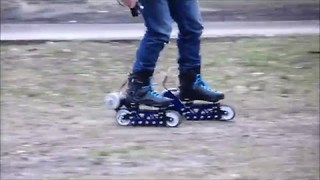 Check Out These Electric Off-Road Rollerblades - Video