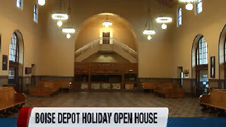 Boise Depot open house and toy drive - Video
