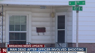 TPD investigate deadly officer involved shooting; Woman and 3 dogs found dead - Video