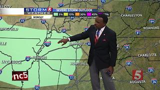 Lelan's Morning Forecast: Monday, July 3, 2017 - Video