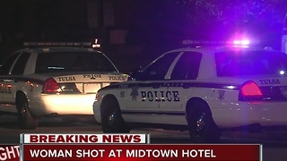 Police investigate shooting at Quality Suites in midtown - Video
