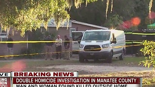 Double homicide investigation in Manatee County - Video