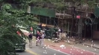 Investigation Continues at Scene of Chelsea Explosion - Video