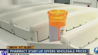 Pharmacy start-up offers wholesale prices - Video