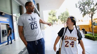 Lil' Tasty Picks Up T-Mac (Part 2) - Video