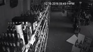 Curious Raccoon Loots Liquor Store 'Looking for Girl Scout Cookies' - Video
