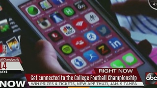 Get connected to the College Football Championship - Video