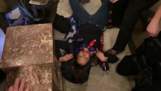 DC Capitol Police Shoots & Kill Woman Inside Capitol Building (WARNING Graphic Images)
