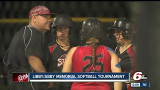 Softball tournament held in memory of Libby German and Abby Williams - Video