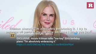On her 50th birthday, Nicole Kidman looks more beautiful than ever | Rare People - Video