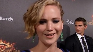 Jennifer Lawrence and Hunger Games hit Cannes - Video