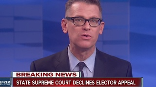 Colorado Supreme Court declines appeal from electors - Video
