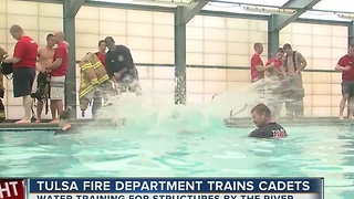 Tulsa Fire cadet training - Video