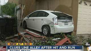 Hit-and-run driver leaves behind heap of clues - Video
