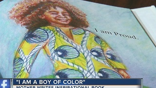Local mom pens book to inspire children of color - Video