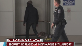 Indianapolis airport tightens security following Fort Lauderdale shootings - Video