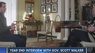 Walker talks Trump, possible third term in interview - Video