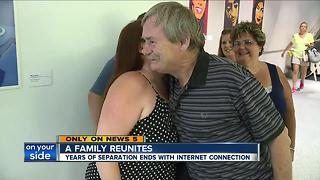Army veteran reconnects with his family after 20 years