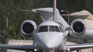 Small Plane Executes Rapid Ascent After Take Off - Video