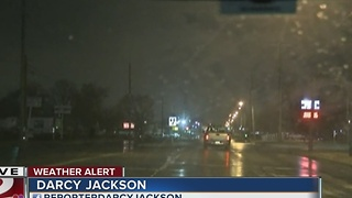 Winter weather coverage: Morning road commute Tulsa conditions