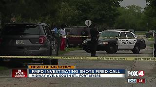 FMPD investigating shots fired call - Video