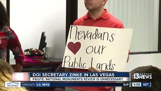 Tribe calls review of Nevada national monuments 'unnecessary' - Video