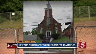 Historic Church Demolished To Make Way For Student Housing - Video