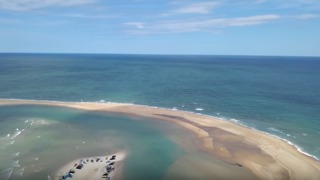 Drone Footage Reveals New Island off North Carolina Coast - Video