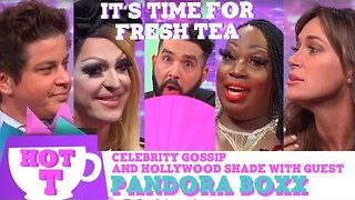 Hey Qween HOT T: Celebrity Gossip & Hollywood Shade with Special Guest Pandora Boxx - Video