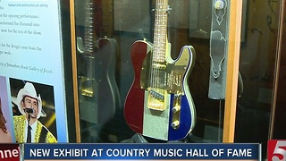Brad Paisley Exhibit Opens At Country Music Hall - Video
