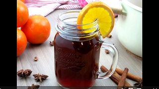 Deliciously warm holiday alcoholic beverage - Video