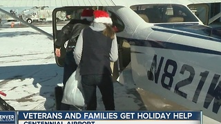 Veterans and families get holiday help