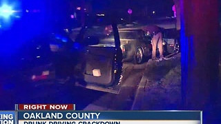 Drunk driving crackdown - Video