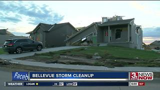 Bellevue continues storm cleanup