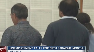 Nevada jobless rate down again, to 5.5 percent in October - Video