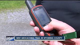 New geocaching trail opens in Wyoming County - Video