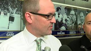 Sabers head coach Dan Bylsma discusses upcoming game against the Dallas Stars - Video