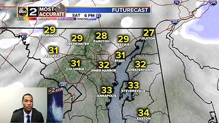 Cold Continues, Snowy Saturday? - Video