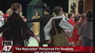 The Nutcracker performed for students - Video