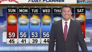 13 First Alert Weather for New Year's Eve - Video