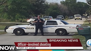 Officer-involved shooting in Port St. Lucie - Video