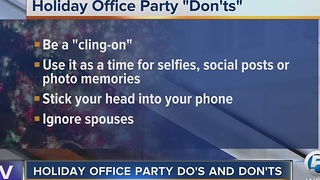 Do's and Don'ts of holiday office parties - Video