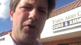 Digital Short: Car crashes into Tampa gun store, suspects get away with weapons - Video
