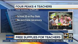 Teachers - get a voucher for a free back-to-school supply box! - Video
