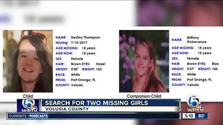Missing child alert issued for 2 teens from Volusia County, Florida - Video