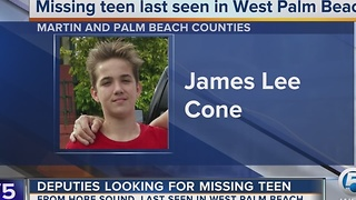 Teen missing - Video