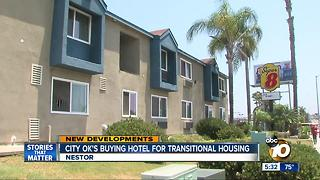 City ok's buying hotel for transitional housing - Video