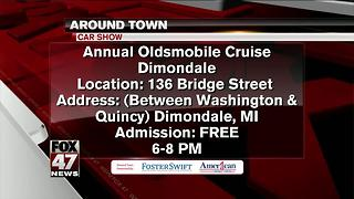 Around Town 6/14/17: Annual Oldsmobile Cruise - Video