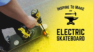 DIY electric skateboard tutorial - Video